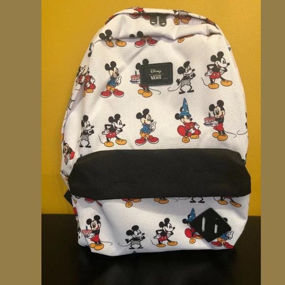 d0b90a064c Vans Bags | Mickey Mouse Backpack Disney Old Skool Ii Bag | Poshmark